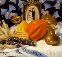 Thanksgiving of the Past  by Donelli J.  DiMaria