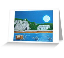 Ballintoy Antrim coast Ireland Greeting Card