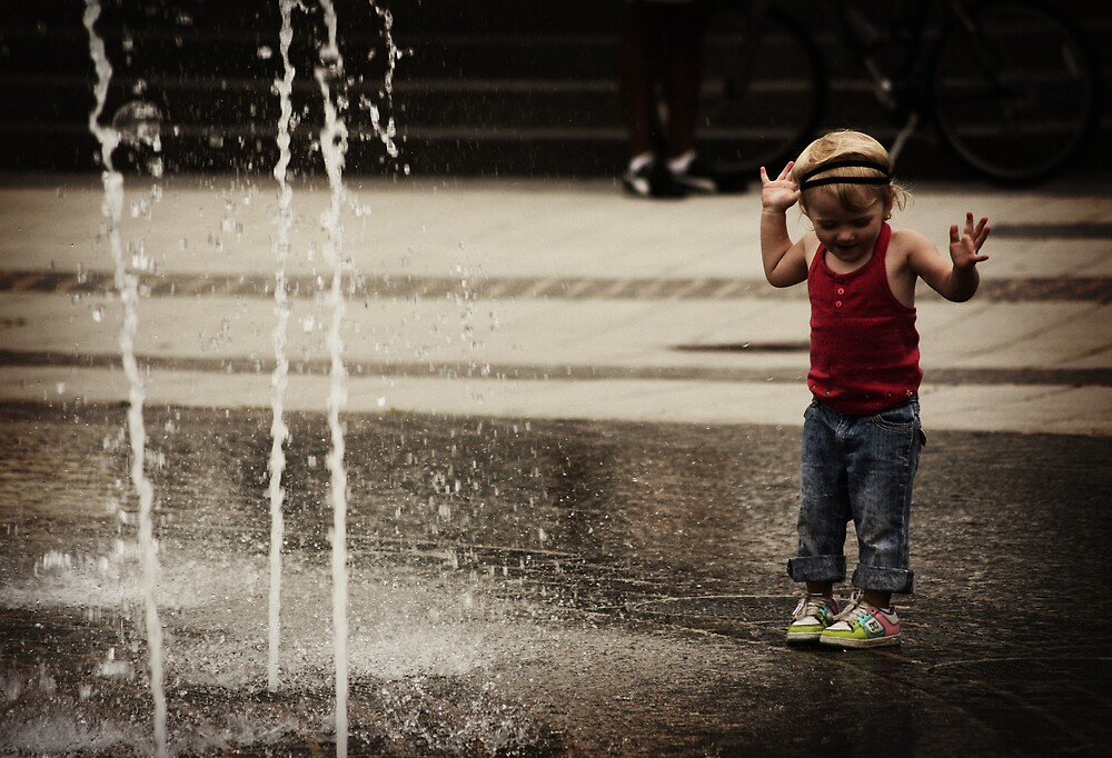 Water Play by Ursula Rodgers