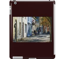 Street Scene In Bridport Dorset, UK iPad Case/Skin