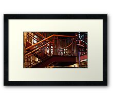 Jazzy Way Down Framed Print
