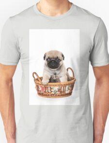 Beige pug puppy Unisex T-Shirt