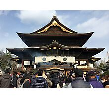 Zenko-ji, January 2015 : Photo Friday at meauxtaku.com Photographic Print