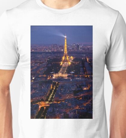 Eiffel Tower at twilight Unisex T-Shirt