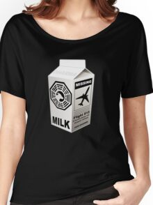 Dharma Initiative Missing Milk Women's Relaxed Fit T-Shirt