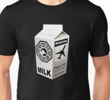 Dharma Initiative Missing Milk Unisex T-Shirt