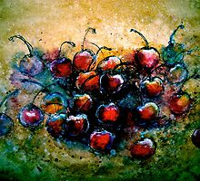 "Cherries...""Chillin"" by ©Janis Zroback"