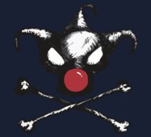 Bozo Skull 2  - Red Nose Kids Tee