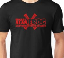Edgar and Alan Frog the Awesome Monster Bashers Unisex T-Shirt