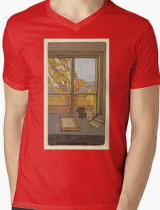BRIAN ENO - BEFORE AND AFTER SCIENCE - PRINT 2 Mens V-Neck T-Shirt