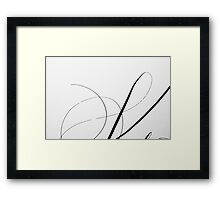 Paper and Ink 1 Framed Print