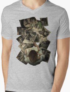Zed's Drawings Mens V-Neck T-Shirt