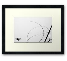 Paper and Ink 2 Framed Print