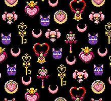 Sailor Chibi Moon - Black by uenki