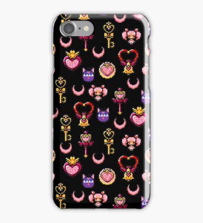 Sailor Chibi Moon - Black iPhone Case/Skin