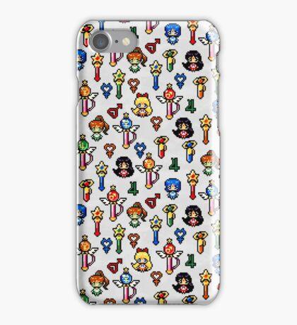 Sailor Moon Inner Senshi - Grey iPhone Case/Skin