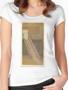 BRIAN ENO - BEFORE AND AFTER SCIENCE - PRINT 4 Women's Fitted Scoop T-Shirt