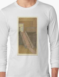 BRIAN ENO - BEFORE AND AFTER SCIENCE - PRINT 4 Long Sleeve T-Shirt