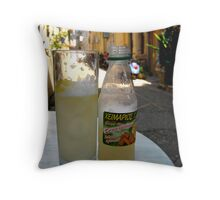 Ginger Beer in Corfu Town Greece Throw Pillow