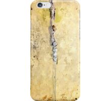 Laureana Cilento: wall with electric wire of the baronian building iPhone Case/Skin