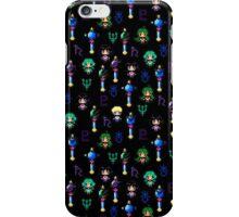 Sailor Moon Outer Senshi - Black iPhone Case/Skin
