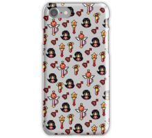 Sailor Mars - Grey iPhone Case/Skin