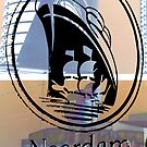 Noordam Shipping Logo by Keith Richardson