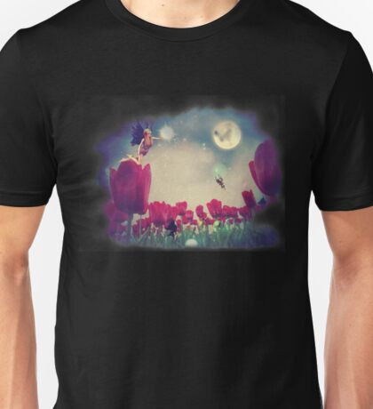 Fairy and Tulips Unisex T-Shirt