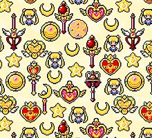 Sailor Moon - Yellow by uenki