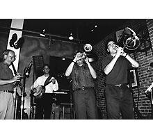 Dixeland Jazz Photographic Print