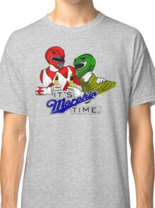 "Mighty Morphin' Power Rangers (Jason & Tommy) ""It's Morphin Time"" Classic T-Shirt"