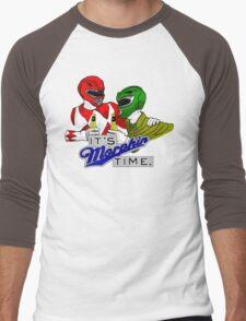 "Mighty Morphin' Power Rangers (Jason & Tommy) ""It's Morphin Time"" Men's Baseball ¾ T-Shirt"
