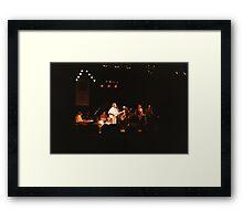 Powder Blues Band Framed Print