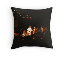 Powder Blues Band Throw Pillow