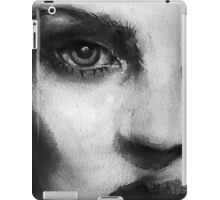 Kate Moss in Black and White 1 iPad Case/Skin