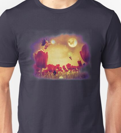 Fairy and Tulips 2 Unisex T-Shirt
