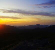 Sunrise on Mt. Marcy by SAJONES