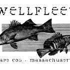 Wellfleet, Cape Cod Fish Poster by Christopher Seufert