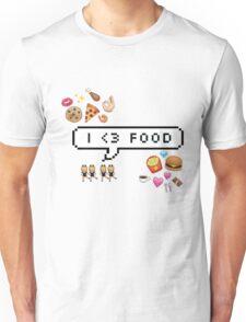 I <3 food Unisex T-Shirt