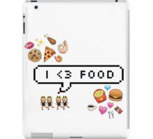 I <3 food iPad Case/Skin