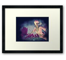 Fairy and Tulips 4 Framed Print
