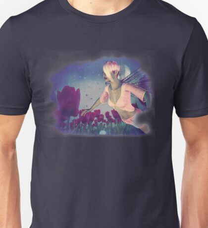 Fairy and Tulips 4 Unisex T-Shirt