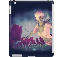 Fairy and Tulips 4 iPad Case/Skin