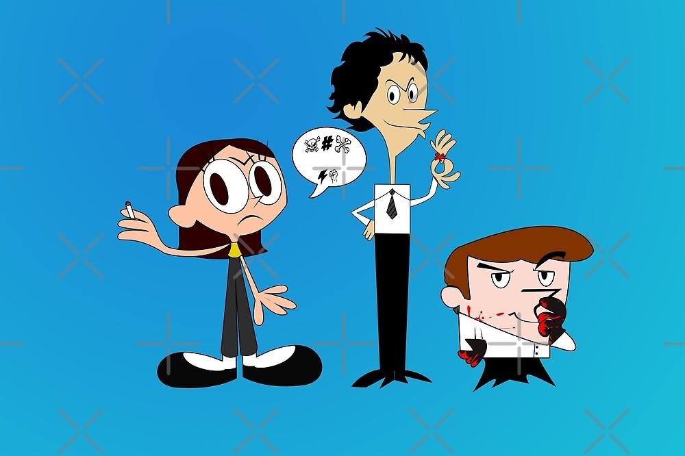 Dexter's Killing Lab by Nana Leonti