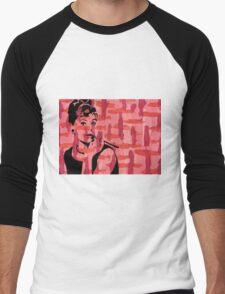 Audrey Hepburn Men's Baseball ¾ T-Shirt