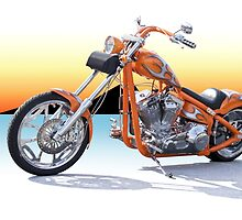 Chopper California Style II by DaveKoontz