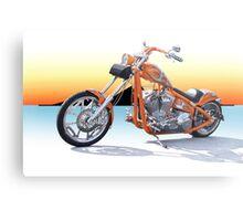 Chopper California Style II Metal Print