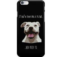 Meet a Pit iPhone Case/Skin
