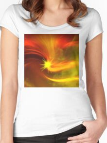 I need your loving like the sunshine/ART + Product Design Women's Fitted Scoop T-Shirt