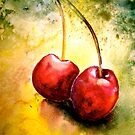 Cherries..Two... by ©Janis Zroback
